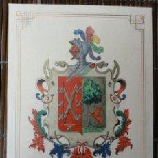 Arte: ESCUDO CASA DIAZ BENITO. Lote 41027965