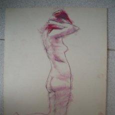 Arte: PEQUEÑO DIBUJO, DESNUDO DE JOAN PALET. Lote 40736784