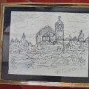 Arte: ESTUDIO DIBUJO, FIRMADO F. POISSON. Lote 41499869