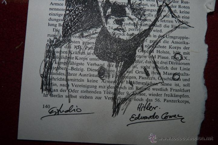 Arte: HITLER, DIBUJO A TINTA - Foto 3 - 41510027