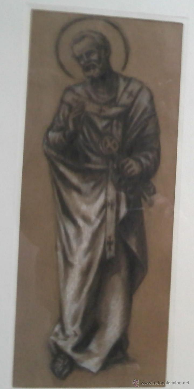 RICARD MARLET SARET. DIBUJANTE, PINTOR Y GRABADOR NACIDO EN SABADELL EN 1896. (SAN PEDRO) (Arte - Dibujos - Contemporáneos siglo XX)