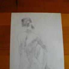 Arte: DIBUJO A LÁPIZ DESNUDO FEMENINO(73). Lote 41638026