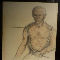 Arte: FRANCESC DOMINGO (1893-1974). FIGURA. SANGUINA.. Lote 41640362