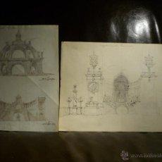 Arte: FRANCESC SOLER ROVIROSA (1836-1900). PROYECTO INEDITO KERMESSE. FECHADO 1892.. Lote 41829959