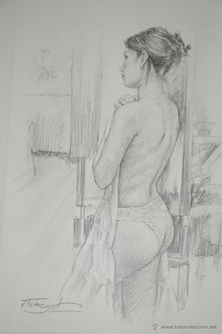 Arte: Dibujo de Chica Tapandose - Foto 2 - 42035542