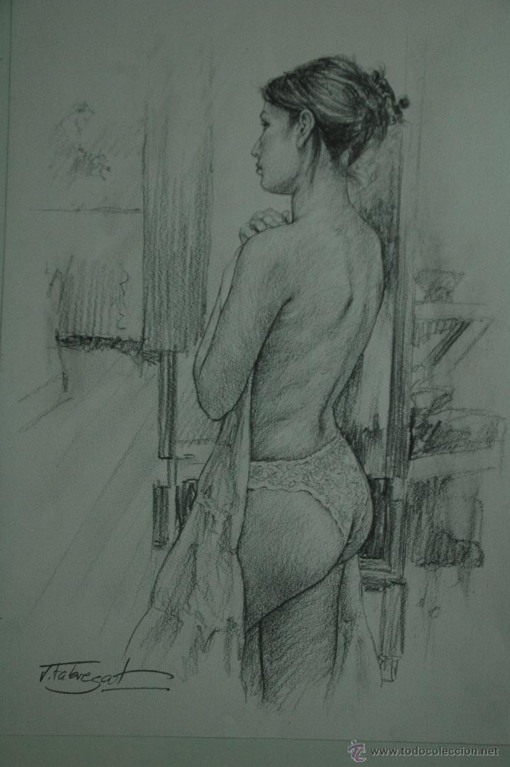 Arte: Dibujo de Chica Tapandose - Foto 3 - 42035542