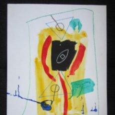 Arte: PINTURA ABSTRACTA. CRESPO. 49,5 X 34 CM. Lote 42402410