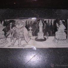 Arte: DIBUJO A PLUMILLA ORIGINAL DE PICAROL PUBLICADO L'ESQUELLA DE LA TORRATXA Nº 2278 - 3 NOV . 1922 PAG. Lote 42507609