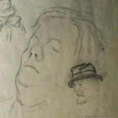 Arte: MARAVILLOSO APUNTE DEL BUEN PINTOR ALEMAN DE FINALES DEL XIX, FIRMADO W. HOVENER. Lote 42520193