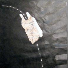 Arte: FRANCESC VIDAL. TÉCNICA MIXTA Y COLLAGE ORIGINAL. Lote 42580900