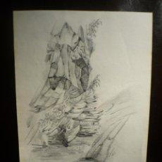 Arte: CONSTANTIN MEUNIER (1831-1905). FIRMADO Y FECHADO 1895. . Lote 42624877