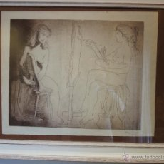 Arte: ALBERTO DUCE BAQUERO (1915-2003) GRAFITO SOBRE PAPEL FIRMADO. Lote 43563004