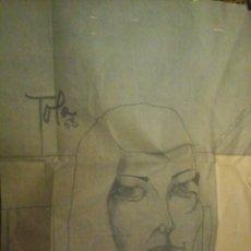 Arte: DIBUJO FIRMADO POR FERNANDO GARCIA TOLA. Lote 43679750