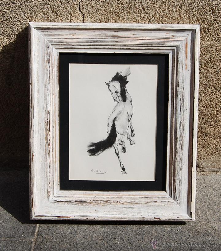 cuadro de un caballo es una obra original de ri - Comprar Dibujos ...