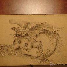Arte: DUBUJO POR MIGUEL 1903. Lote 43888001