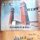 Arte: LOTE 2 BONITOS DIBUJO ALBUM ESCOLAR . MONTJUICH COLEGIO IBÉRICO 1934 LUIS GIRAU 33 / 40 CM. Lote 44344394