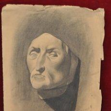 Arte: JOSEP BARRENECHEA, DIBUJO A CARBON. ACADEMIA. Lote 44381158