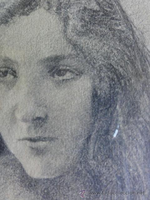 Arte: Dibujo chica - Foto 2 - 44469774