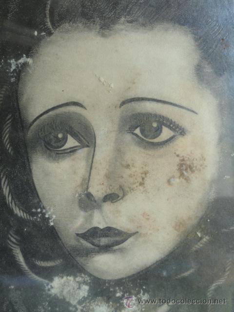 Arte: DIBUJO CON MARCO. FIRMADO Y FECHADO. - Foto 5 - 44759881