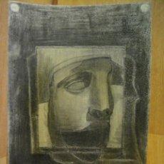 Arte: DIBUJO AL CARBON - FIRMADO RAMON LOPEZ AÑO 1946. Lote 44856508