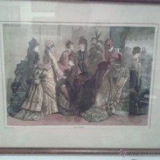 Arte: OBRA GRAFICA FRANCESA TITULADA SPRING FASHIONS DE ABRIL 26 DE 1873. Lote 45071187