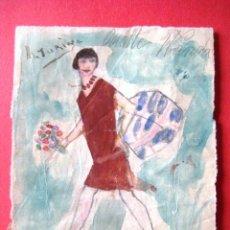 Arte: DIBUJO AÑOS 30.FIRMADO: M. TURINA..ENVIO CERTIFICADO INCLUIDO.. Lote 45153127