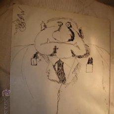 Arte: CUADRO DIBUJO TIPO COMIC, AUTOR MANUEL BARCELONA.. Lote 20807311