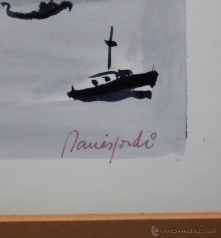 jordi danés, acuarela sobre papel 20x30 cm. mar - Comprar Dibujos ...