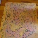 Arte: OLEO SOBRE PAPEL - ANÓNIMO - ABSTRACTO. Lote 45483223