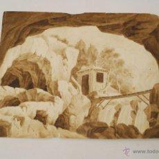 Arte: DIBUJO A LA ACUARELA. SIGLO XVIII O XIX. . Lote 45490385