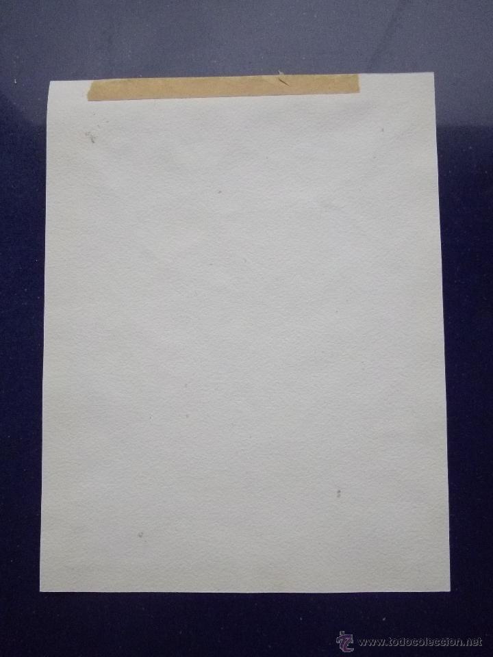 Arte: ELEGANTE DIBUJO ORIGINAL RETRATO HOMBRE CON PERRO TINTA CHINA AÑOS 30-40 ART DECO - Foto 2 - 45820250