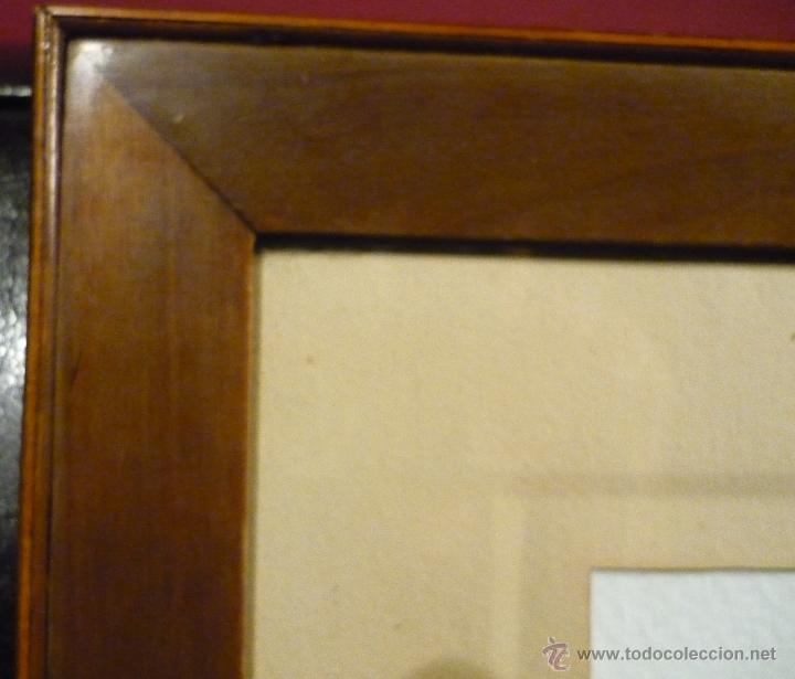 Arte: PAISAJE CON CAZADOR DE LLUIS RIGALT (1814-94) - Foto 7 - 45851560