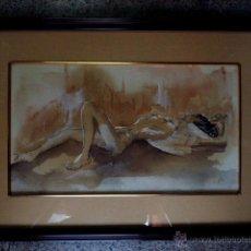 Arte: DIBUJO ACUARELADO.CON FIRMA ILEGIBLE.1934. Lote 45884385