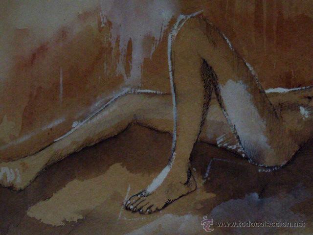 Arte: dibujo acuarelado.con firma ilegible.1934 - Foto 4 - 45884385
