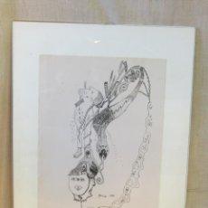 Arte: SKAPELSENS ANDE - HENNYS DIBUJO ORIGINAL FIRMADO Y FECHADO. Lote 45994501