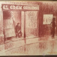 Arte: SAN ROMAN 36 DIBUJO ORIGINAL ENMARCADO. Lote 46465462