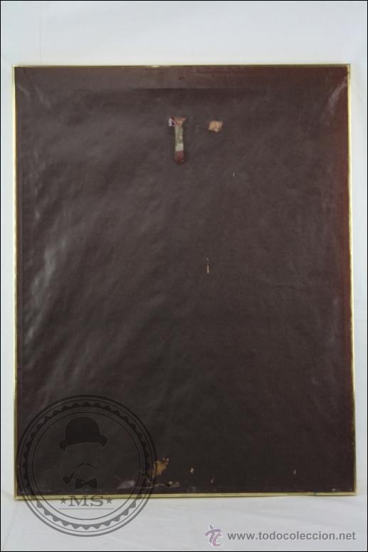 Arte: Dibujo al Pastel Enmarcado, de Domingo Álvarez - Chica Pensativa - Medidas 64 x 50 Cm - Foto 6 - 46535731