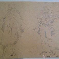 Arte: LÁPIZ/PAPEL F Y FECHADO (E. BAGARD 1877). Lote 46537602