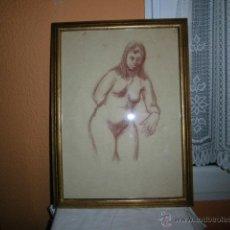 Arte: DESNUDO MUJER ANTONIO PARDO LEER. Lote 46708480