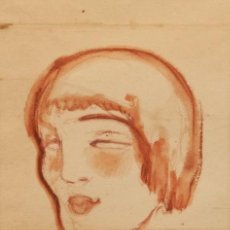 Arte: ISMAEL SMITH I MARI, DIBUJO ACUARELADO AÑO 1913,FIRMADO,MODERNISTA-ART DECO,INVERSION ARTE CALIDAD. Lote 33676524