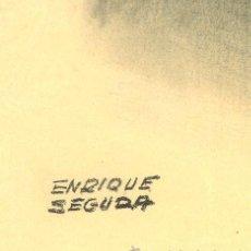 Arte: FRANCISCO FRANCO POR ENRIQUE SEGURA. Lote 46955243