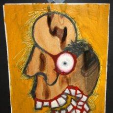 Arte: ANONIMO. TECNICA MIXTA SOBRE CARTULINA. ABSTRACTO. Lote 47226003