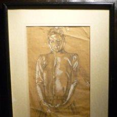Arte: PERSONAJE POR ROMÀ RIBERA (1849-1935). Lote 47307037
