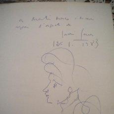 Arte: DIBUJO DE JORDI SERRA MORAGAS 1983.. Lote 47400442