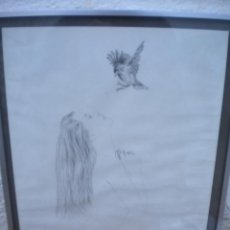 Arte: DIBUJO DE DOROTHY MOLLOY 1979.. Lote 47400711