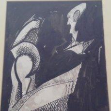 Arte: MARCEL MARTÍ BADENES - DIBUJO TINTA SOBRE PAPEL 31 X 22 CMS. FIRMADO 1983. Lote 47464376