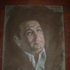 Arte: AUTORRETRATO DE ONRUBIA EN CERAS 1985. Lote 47499347