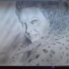 Arte: PRECIOSO DIBUJO HIPER-REALISTA FIRMADO POR JOSHAN . Lote 47521844