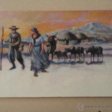 Arte: DIBUJO ORIGINAL DE LA REVISTA ALGO – NOVIEMBRE 1989. Lote 47715115