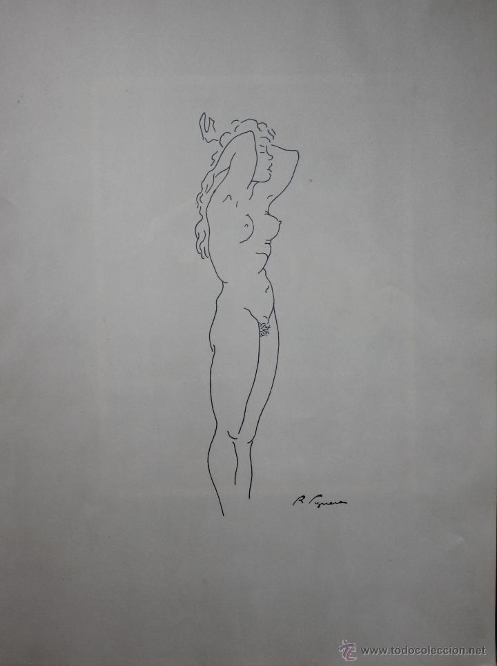 Arte: LIBRO ARTISTA BILBAINO RAFAEL FIGUERA. 12 ORIGINALES DE DESNUDOS. AÑOS 60 - Foto 3 - 47718923